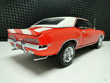 1969 69 Camaro Z28 RS Chevrolet Built Car 1 24 Carousel Orange Model 18