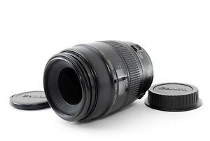 Canon EF Macro 100mm F/2.8 AF Lens Non USM Excellent+ Japan Tested Fedex #7258