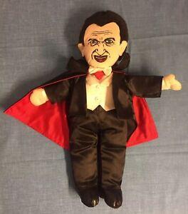 Dracula Vampire Plush Doll Universal Studios Monster Satin Suit