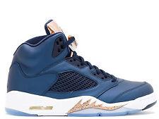 e86dd2d4fcdc Nike Air Jordan 5 Retro BG V Bronze Tongue Olympics Kids Girls 4.5 Y