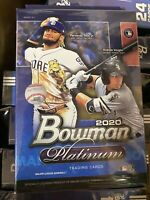 2020 Topps Bowman Platinum Baseball Hanger Box NEW