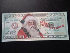 $1 milioni di americani delle banconote bill Babbo Natale Estate Regalo di Natale 4 un amico