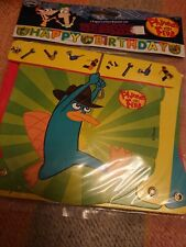 Phineas and Ferb paper letter banner - party - decoration