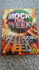 Mock The Week's Only Book You'll Ever Need BBC Comedy New Stocking filler