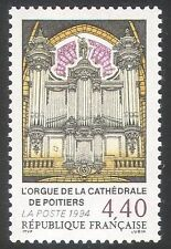 France 1994 Poitiers Cathedral Organ/Church/Musical Instruments 1v (n42523)