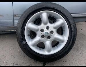 Land Rover Freelander Alloy Wheel 6 Spoke Free Tyre 225/55/17 1998-2006