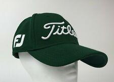 TITLEIST Dark Green FITTED Baseball HAT Cap PRO V1 Moose Ridge FJ Golf Size M/L