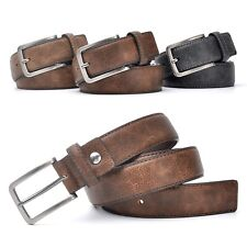 Stylish Casual Belts PU Leather Belt Trouser Waistband Accessories For Men