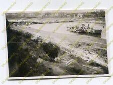 Foto, russischer Raddampfer, Schiff auf einem Fluss im Raum Orschau, (N)19551
