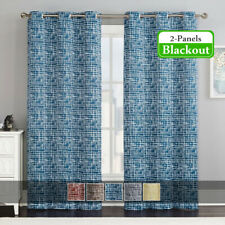 2 Panels Lenox Thermal Room-Darkening Grommet Top Window Drapes & Curtains
