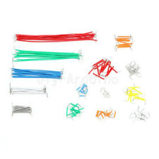 140pcs Solderless Breadboard Jumper Cable Wire Kit Box Shield for Arduino NEW