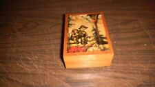 Vintage Swiss Musical Music Box