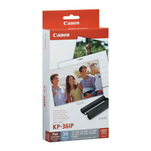 CANON KP-36IP Ink+Label Kit for SELPHY CP790 CP780 CP770 CP760 CP800 CP900 CP910