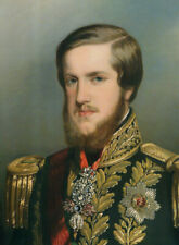"""high quality oil painting handpainted on canvas"""" Dom Pedro II"""""""