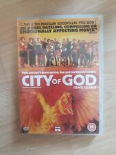 CITY OF GOD  DVD   FREE POST UK