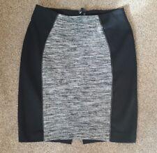 h&m black white mini skirt 36 - 10