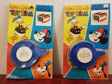 2 films Cinevisor Super 8 color Mupy 18-19 neufs blisters Walt Disney Vintage
