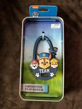 Nickelodeon Paw Patrol Carabiner Clip Watch Digital