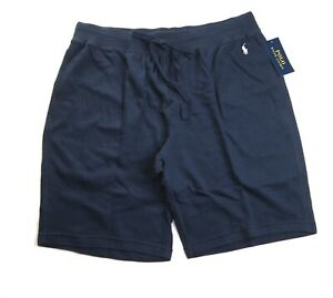 POLO RALPH LAUREN Men's Cruise Navy Waffle-Knit Pajama Shorts XL NEW NWT