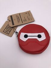 Chocoolate x Disney Armour Baymax Round Coin Zip Pouch (Aaa)