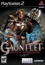 Gauntlet Seven 7 Sorrows Complete in original case w/ manual Black Label