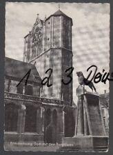 1173Q)  Ansichtskarte  AK  Braunschweig    Dom  mit dem  Burglöwen