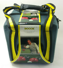 SPORTCRAFT COMPETITION BOCCE BALL SET & BAG HIGH QUALITY RED BLACK BALLS - NEW!!