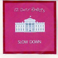 (EN297) 12 Dirty Bullets, Slow Down - DJ CD
