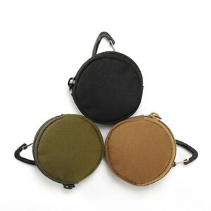 Circle Purse Coin Bag Carrying Headphone Earphone Storage Pouch Protect Outdoor