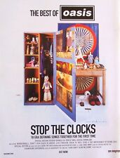 Oasis 2006 Poster Ad Stop The Clocks peter blake