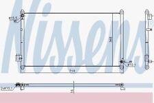 Nissens 940502 ac condensatore HONDA CITY 03