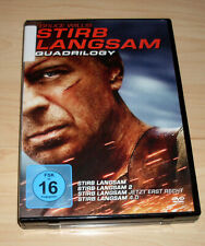 DVD Box - Stirb Langsam Quadrilogy - Teil 1 2 3 4 - Bruce Willis