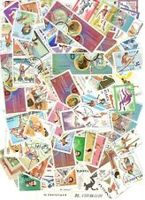 100 Athletics Stamps All Different Nice Lot