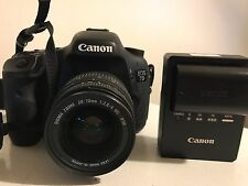 Canon EOS 7D 18.0 MP Digital SLR Camera - Black includes charger and battery