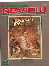Review Entertainment Magazine December 1983-Janaury 1984 Raiders of the Lost Ark