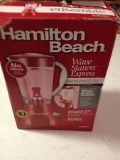 Hamilton Beach Blender Wave Station ensemble