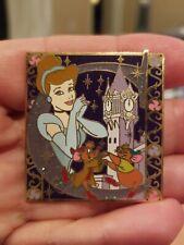 Rare 2007 Walt Disney World Princess Storybook Initial Series Cinderella 'C' Pin