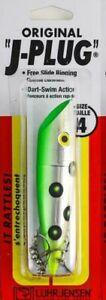 "Luhr -Jenson   J-Plug     "" The Original "" #4     FLO GREEN CHART"