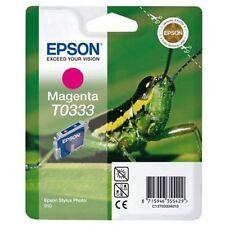 GENUINE ORIGINAL EPSON T0333 MAGENTA INK CARTRIDGE EPSON STYLUS PHOTO 950