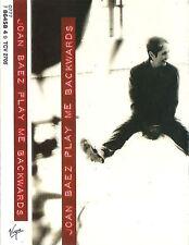 JOAN BAEZ PLAY ME BACKWARDS CASSETTE ALBUM Folk Rock, Pop Rock, Vocal, Classic
