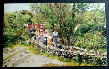 1959 POSTCARD GNOMES OVERPASS ROCK CITY ATOP LOOKOUT MOUNTAIN CHATTANOOGA TN