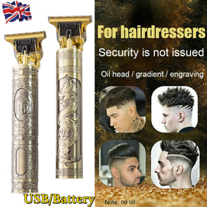 Professional Mens Hair Clippers Shaver Trimmers Machine Cordless Beard Electric-