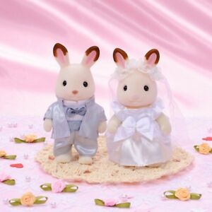 SYLVANIAN FAMILIES CALICO CRITTERS WEDDING CHOCOLATE RABBIT FAN CLUB LIMITED
