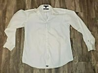 VTG Tommy Hilfiger Mens Medium White Button Down Shirt  The Lifetime Collar
