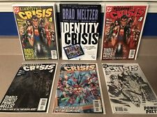 Identity Crisis 1-7 Complete With Variants Signed Hardcover Red 1st 2nd Prints