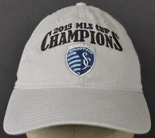 2013 MLS Cup Champions Soccer Sporting Beige Baseball Hat Cap Adjustable Strap