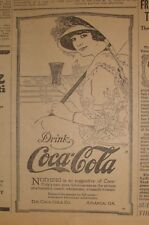Ad Coca Cola - The Duluth News Tribune - May 19, 1915 - Single Page Newspaper Ad