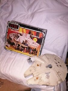 Vintage Star Wars Millenium Falcon,1979, Kenner with Box