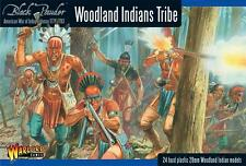 Warlord Games WGR-AWI-05 - Woodland Indian Tribes 28mm Plastic Box Set