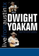 DWIGHT YOAKAM - LIVE FROM AUSTIN,TX   CD+DVD NEW!